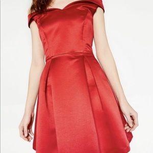 Zara satin dress